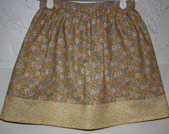 Pretty in Spring Skirt  Size 2 to 8