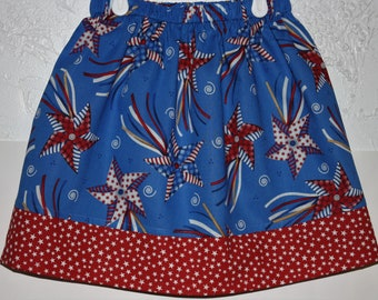Pin Wheels Skirt  Size  2 to 10