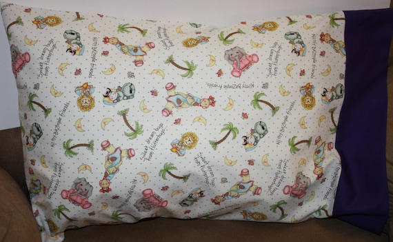 Sweet Dreams Travel Toddler Or Standard Pillowcase Etsy