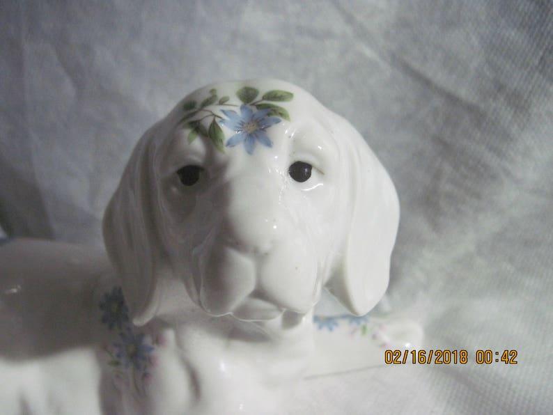 Vintage Porcelain Labrador Retriever Dog Figurine Royal Orleans Japan