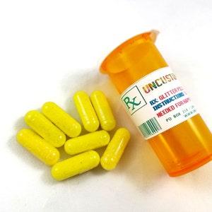 Cosmic Kitty in Pill Bottle Glitter Pills