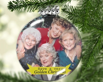 golden girls ornament golden girls gifts have a golden christmas fan gift golden girls fan sweet tea and grace shady pines