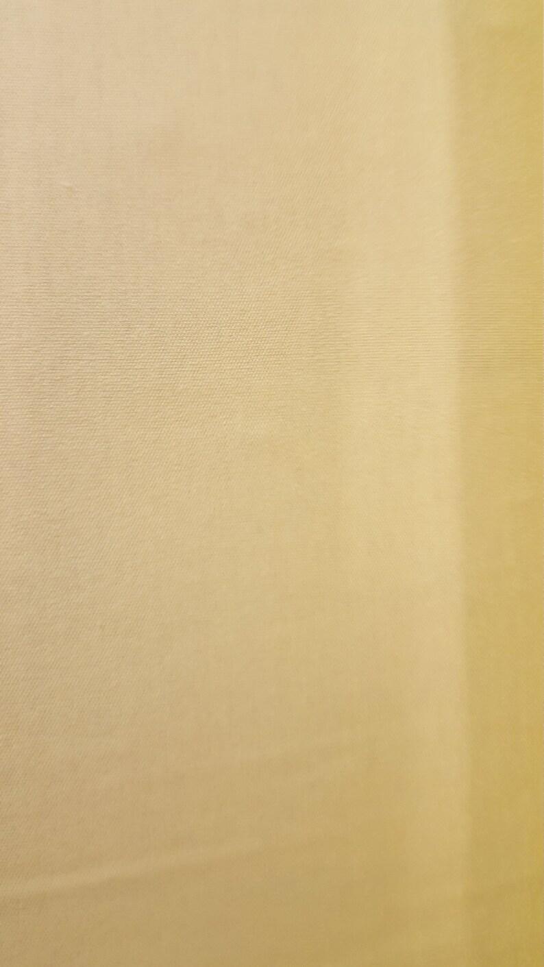 6348e60cc24 Light Yellow Cotton Interlock Knit FAbric | Etsy