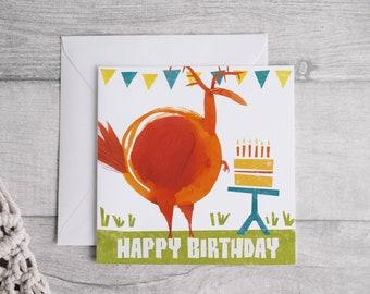 Happy Birthday - Square Greetings card
