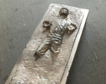 Star Wars Soap gift for him - Solo Movie-  coffee soap - Fathers day soap - Han Solo in Carbonite - boyfriend soap - may the 4th be with you