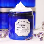 Gift for her - Lavender Vanilla lotion - Mother's Day Gift - Shea Butter - Natural skincare Whipped Body Butter moisturizer Coconut oil