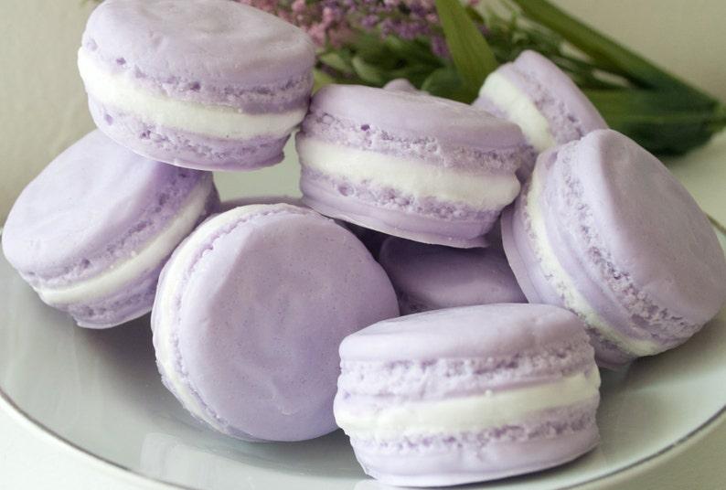 Soap shower favors  French Macaron Soap  Wedding Favor  image 0