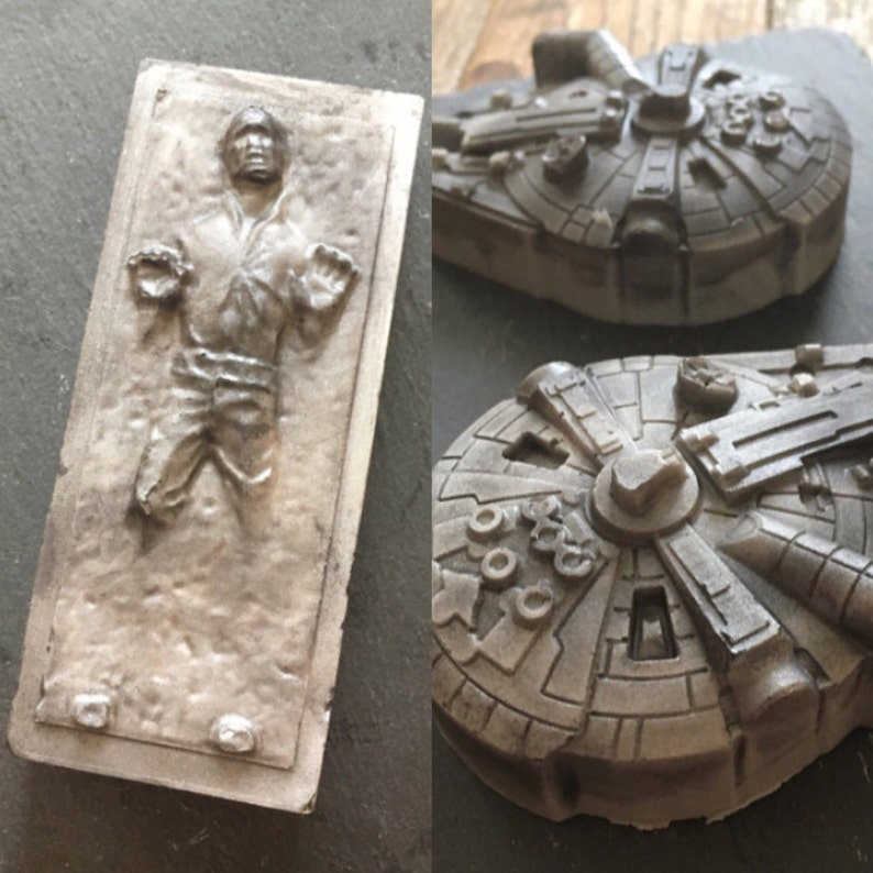 Star Wars soap set  Solo  gift for him  Millennium Falcon  image 0