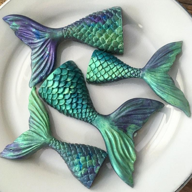 Mermaid soap  mermaid tail  gift for her  teacher gift  image 0