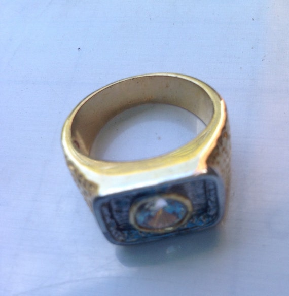 Gold filled solitaire ring   VJSE - image 3