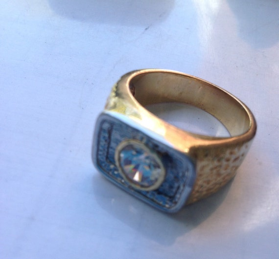 Gold filled solitaire ring   VJSE - image 4