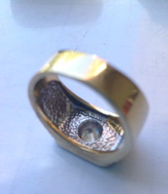 Gold filled solitaire ring   VJSE - image 5