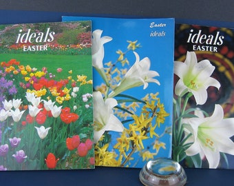 Ideals Easter Magazines, Lot of 3, March 1966, March 1991, March 1988