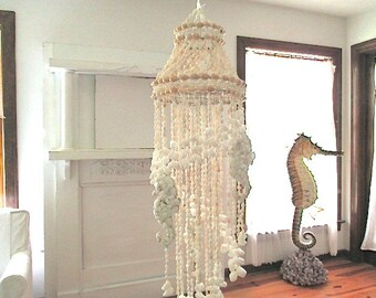 Seahorse/Shell Wind Chimes/Chandelier