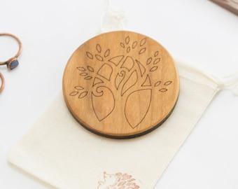 Pocket Mirror - Tree