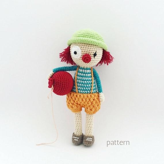 Sebastian Crochet Doll Pattern Amigurumi Doll Pattern Etsy