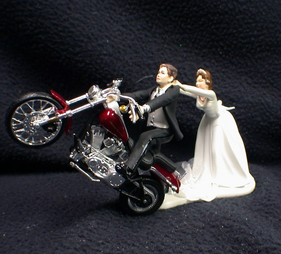 harley davidson wedding cake toppers australia motorcycle wedding cake topper w harley davidson 15077