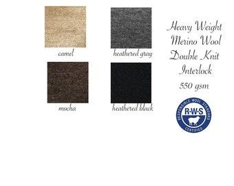 Heavy Weight Merino Wool Fabric
