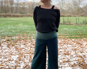 Mid Weight Merino Wool Gauchos