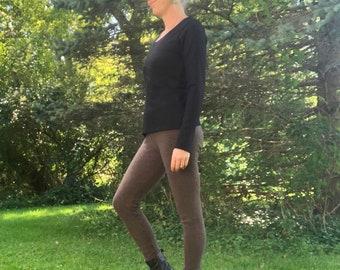 Heavy Weight Merino Wool Leggings