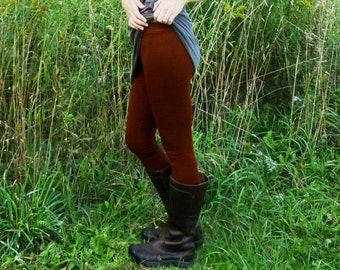 Mid Weight Merino Wool Leggings