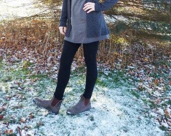 Light Weight Jersey Merino Wool Leggings