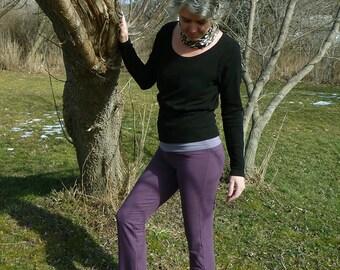 7ff3d755b5020 Organic Clothing Cotton Yoga Pants
