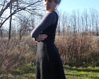 Mid Weight Merino Wool Tank Sweater Dress
