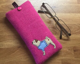 77961adc4fc Pug glasses case