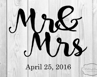 Wedding Floor Decal Etsy