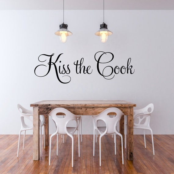 Don/'t Forget to Hug the Cook dinning room wall decal kitchen wall decal home wall decal