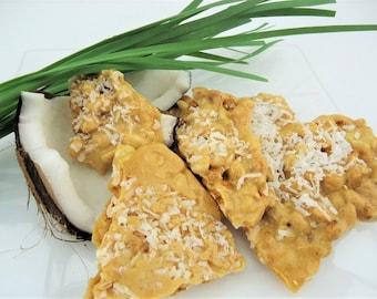 Coconut Peanut Brittle - Ken's Airy Crunch Homemade Brittle Candy Bag
