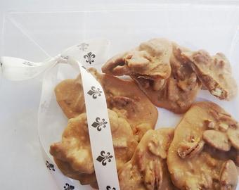 Pecan Pralines ONE LB - Ken's Airy Crunch Homemade Pralines Candy Bag