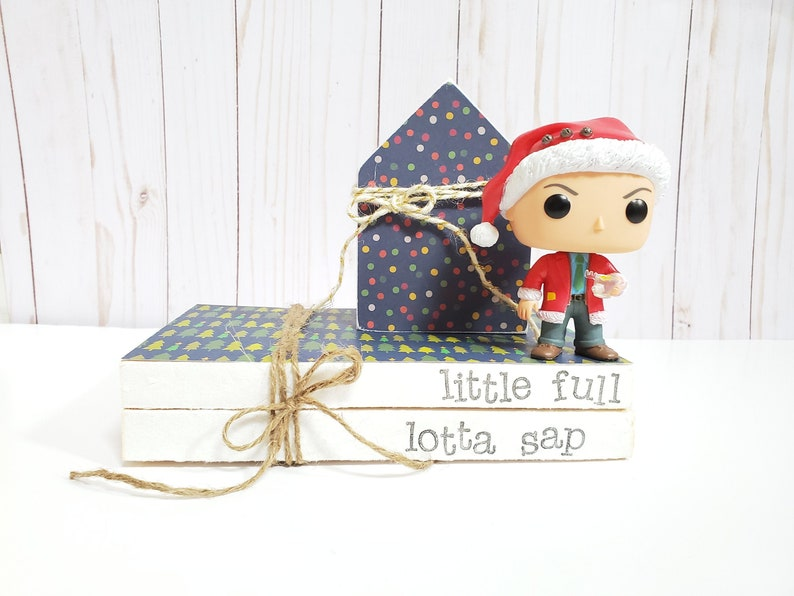 Little Full Lotta Sap Stamped Books  Christmas Vacation image 0