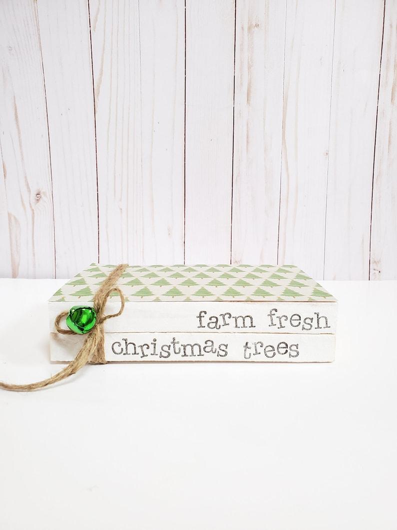 Farm Fresh Christmas Trees Stamped Book Set  Christmas image 0