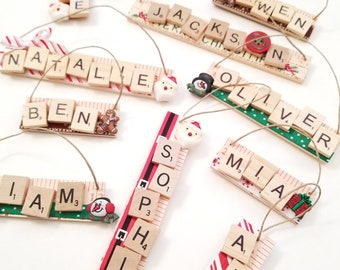 Christmas Ornament with Name - Gift for Kids - Personalized Christmas Gift