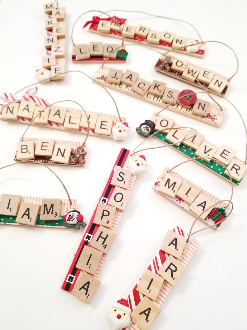 Christmas Ornament with Name  Gift for Kids  Personalized image 0