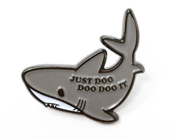 NEW** Baby Shark Just Doo Doo Doo It Enamel / Lapel Pin