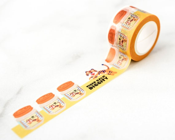 Tiger Balm Diggity Wide Washi Tape