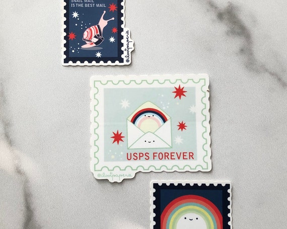 USPS Forever Stamps Love Sticker Pack of 3