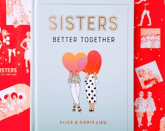 Sisters: Better Together Signed Gift Book + Postcard + Sticker of Your Choice