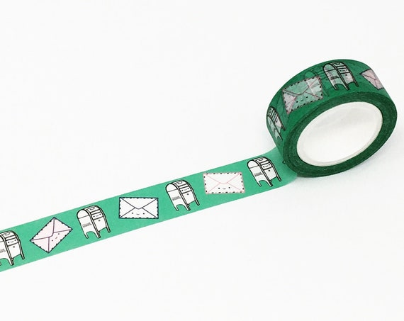 Happy Letter! Happy Mail Box Washi Tape