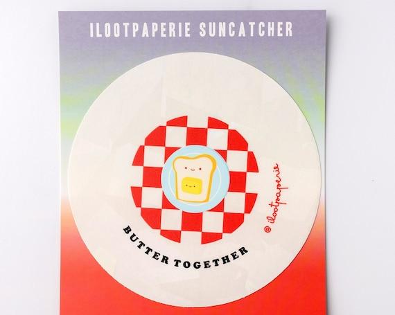 NEW** Butter Together Suncatcher Sticker Rainbow Maker Window Decal