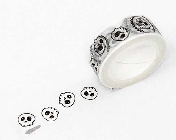 Cute Skulls Washi Tape