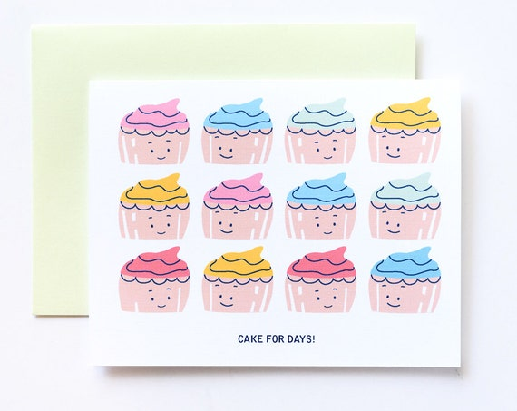 Cake for Days Greeting Card