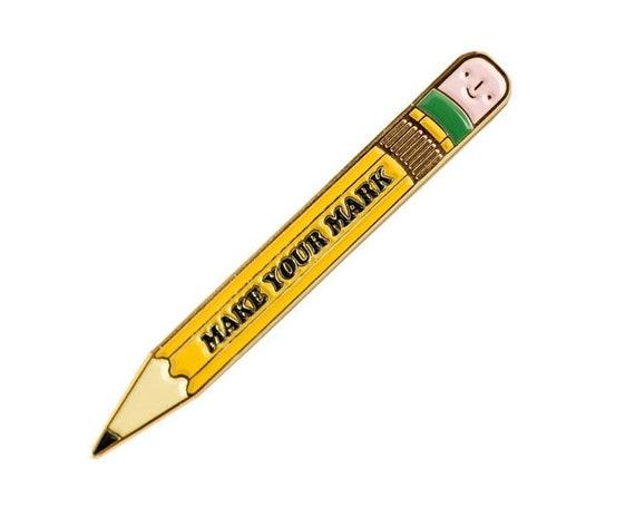 NEW** Make Your Mark No. 2 Pencil Enamel / Lapel Pin