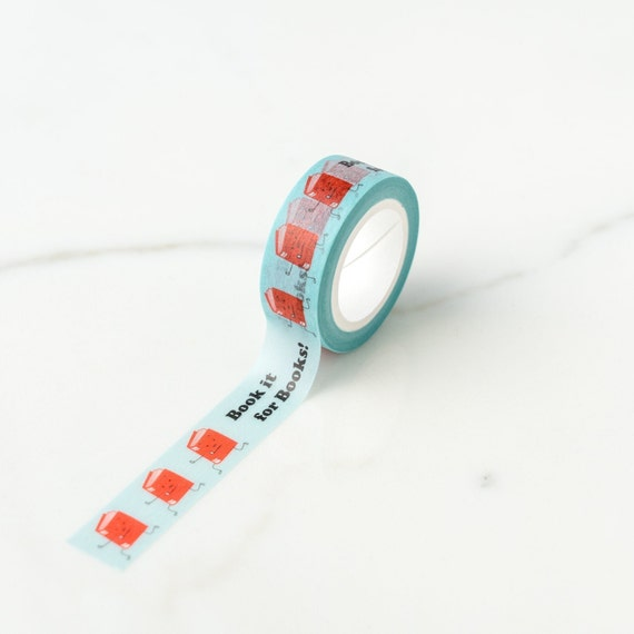 Book it for Books Washi Tape