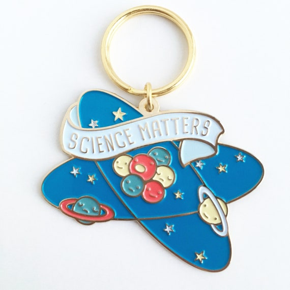 NEW! Science Matters Soft Enamel Keychain