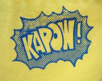 Kapow Superhero Underwear - Recycled Cotton - Women's 6 - Ready to Ship