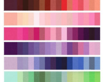Fabric Sample for Bow Ties, Suspenders, Pocket Squares, Dog Bow Ties, 100% Cotton, over 300 Colors! Adult & Children Sizes, Made in the USA